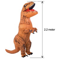 INFLATABLE Dinosaur Costumes for adult T Rex Dinosaur Halloween Inflatable costume mascot Party costume for adult T Rex