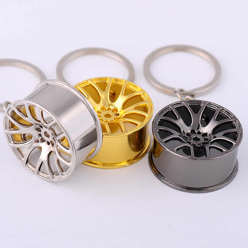 Auto Sleutelhanger Wiel Tire Styling Creative Mini Model Velg Autosleutel Ring Sleutelhouder Auto Sleutelhanger Sleutelhanger voor Auto Llavero mannen