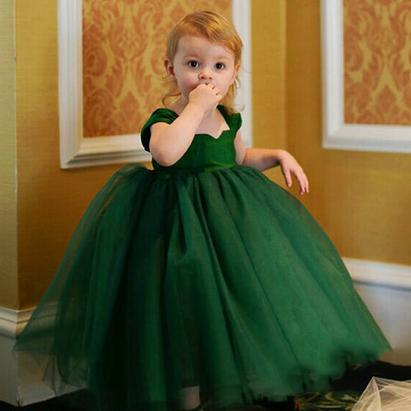 Girls Tutu dress Wedding dress formal wear Princess Party Dress Children baby Christmas clothes 12 months 2 5 6 7 8 12 years old girls maxi dresses baby clothes party tutu dress flower girls wedding princess dress kids 4t 5 6 7 8 9 10 11 12 13 15 years old