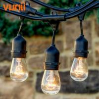 Vender VDE 10 M E27 S14 bombillas Led impermeable cadena luz UL Listd IP65 calidad comercial de