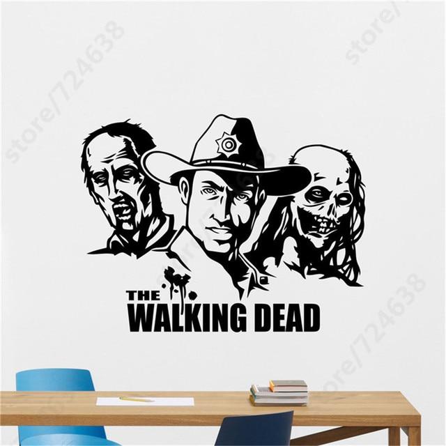 Walking Dead Zombie Wall Decal Movie TV Series Vinyl Sticker Decor ...