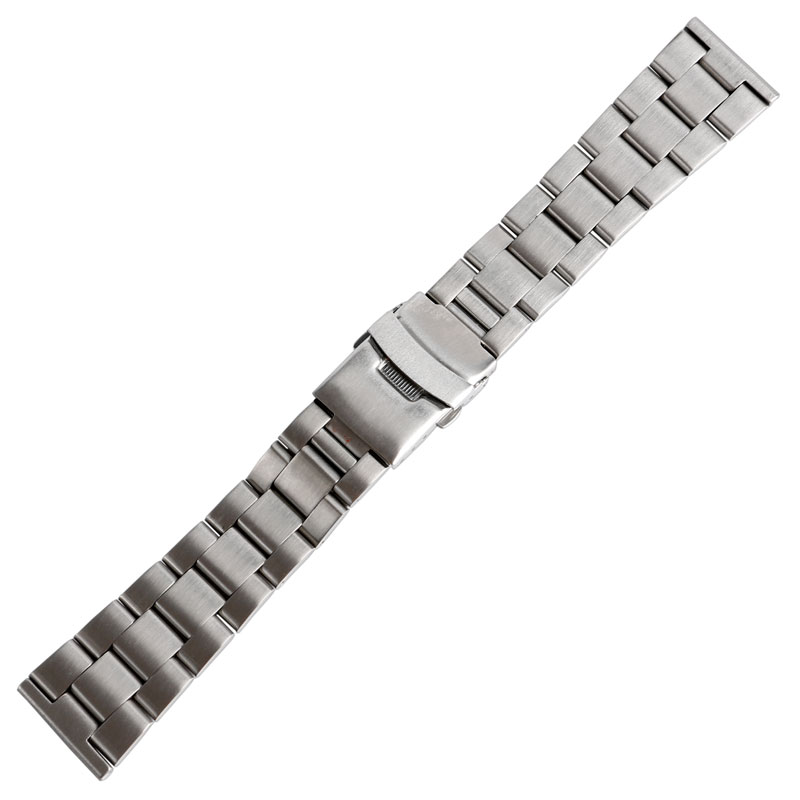 20mm/22mm Solid Link Stainless Steel Bracelet Mens Silver Watch Band Strap Replacement High Quality Folding Clasp Males Fashion stainless steel watch band 18mm 20mm 22mm 24mm for orient safety clasp strap loop belt bracelet black rose gold silver tool