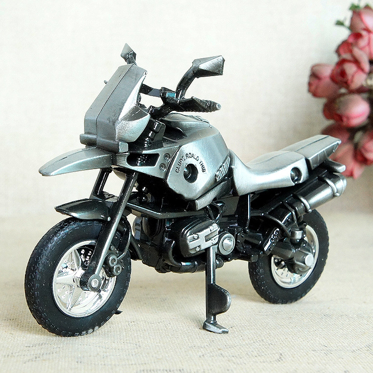 New alloy motorcycle model craft decoration decoration gift motorcycle Retro and Nostalgic Old Furniture home decoration in Figurines Miniatures from Home Garden