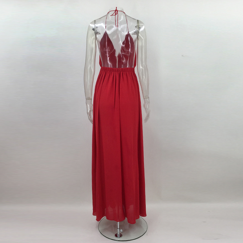 HTB16ddYXfBNTKJjy0Fdq6APpVXab - 2018 New Fashion Sling Bandage Maxi Long Dress Women's Robe Long femme vestido de festa elbise