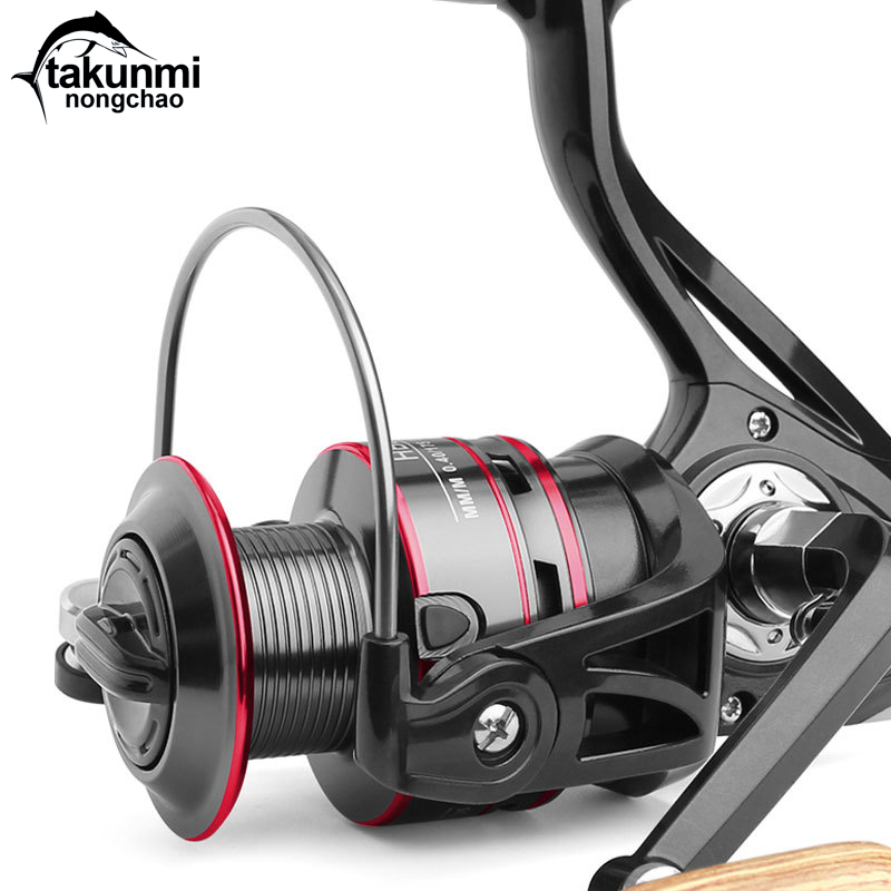 New Original ULTEGRA FB 1000HG 2500HG C3000HG - C6000XG 5+1BB Spinning Fishing Reel X-Ship Fishing Wheel ZG-170