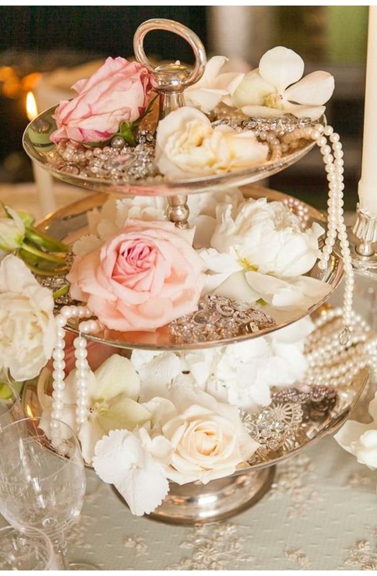 5 Meter 6mm Perlen Perlen Kette Kranz Blumen Vintage Boda Hochzeit