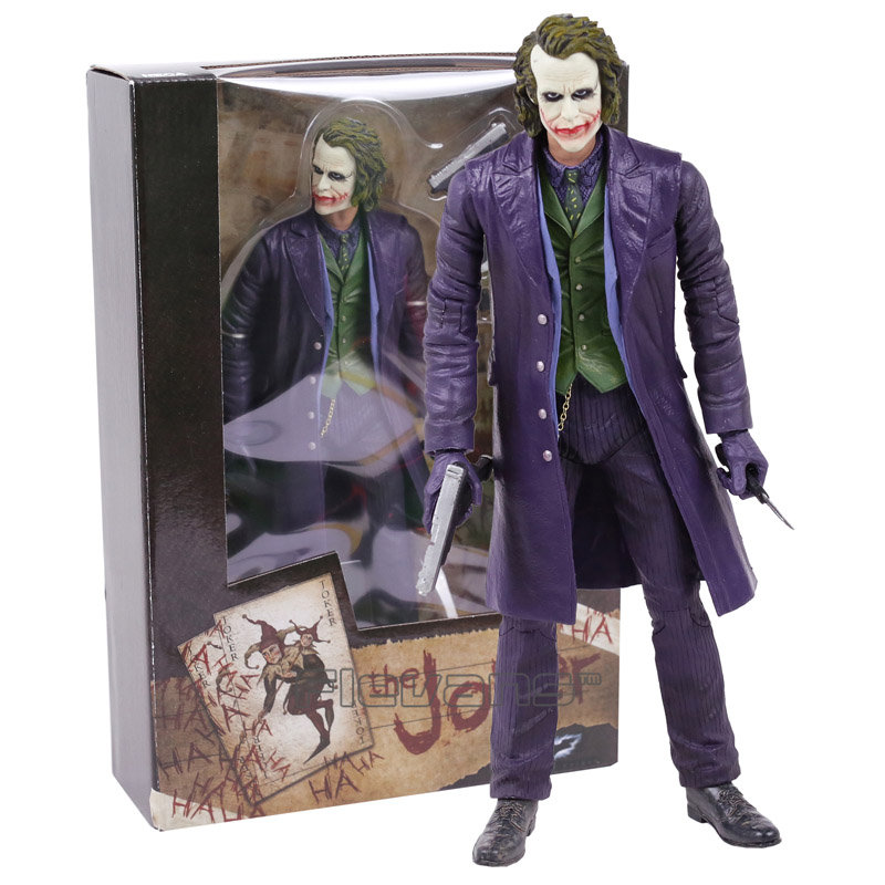 NECA The Joker Batman PVC Action Figure Collectible Model Toy 12inch 30cm naruto kakashi hatake action figure sharingan ver kakashi doll pvc action figure collectible model toy 30cm kt3510