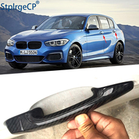for BMW 1 series E82 E87 F20 F21 2007 2019 Accessories 100% real carbon fiber Auto outer door handle cover