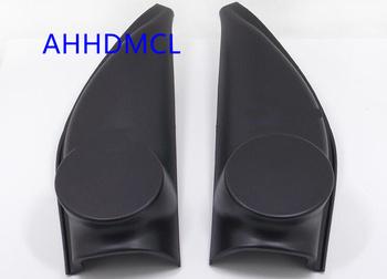 Szyny głośnikowe do montażu głośników samochodowych uchwyty gumowe drzwi kątowe do Proton MYVI 2010 tanie i dobre opinie Skrzynek głośnikowych AHHDMCL Black 0 25kg ABS+PC Car audio door angle gum tweeter refitting