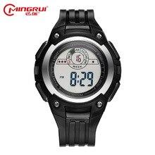 Chico deportes electrónicos reloj luminoso impermeable reloj estudiante reloj electrónico de múltiples funciones de la personalidad masculina relojes de pulsera