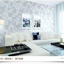 3d стерео экологически чистые короткие мозаика вентиляция немой прочный тиснением нетканые обои 0,53*10 м длиной для гостиной/кровати