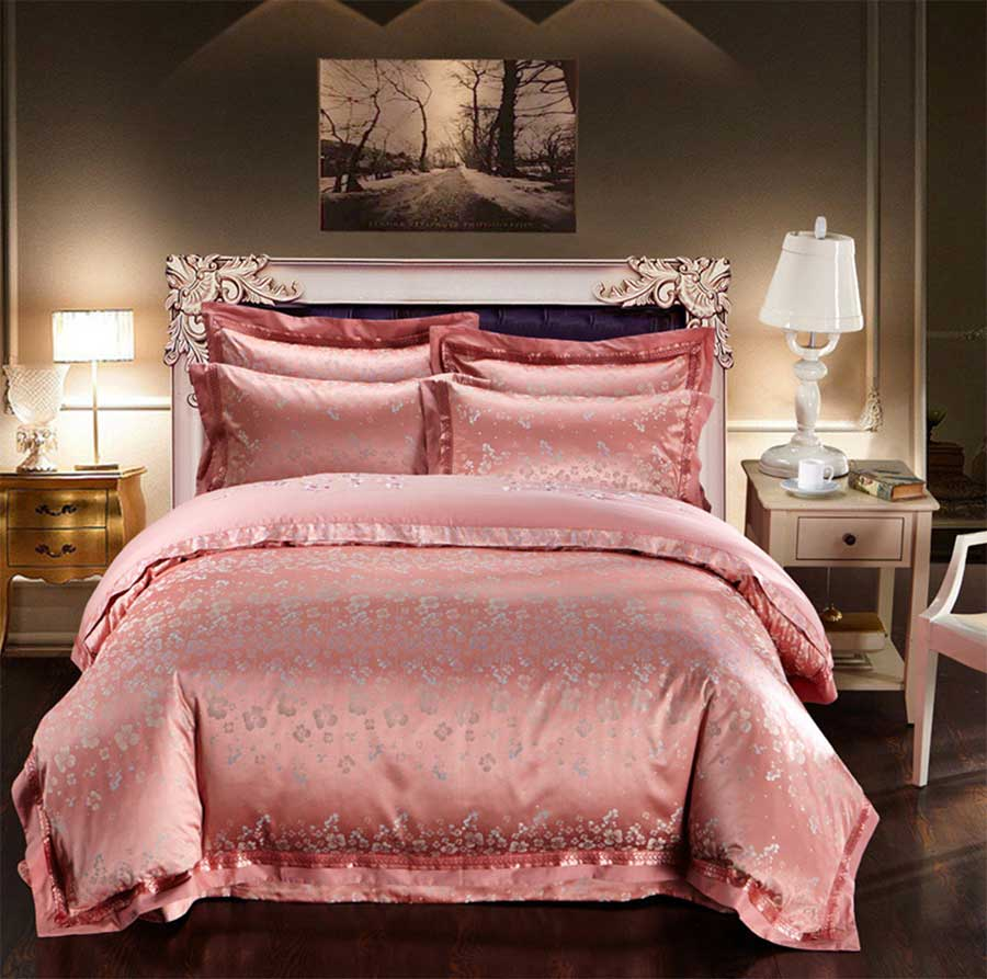 girls flower bedding promotionshop for promotional girls flower  - europeann vintage flower bedding set adult girlfull queen king s retrojacquard bedclothes bed linen pillow cases duvet cover