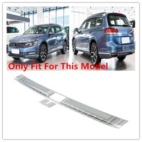 HIGH FLYING Steel Rear Bumper Guard Sill Plate Protector Cover Molding For VW Volkswagen Passat B8