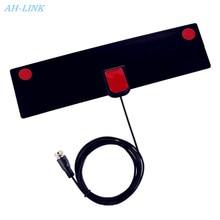AH-LINK 100 Miles Indoor DVB-T2 Thin HDTV 1080P Digital Antenna Mini Flat Signal Amplifier Satellite signal receiver TV Receiver