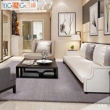 Pure color wool carpet hotel full large living room coffee table bedroom bedside blanket custom