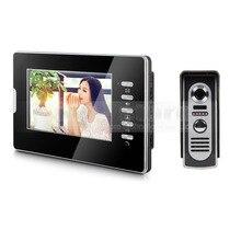 DIYKIT 600TVL 7″ LCD Video Doorbell Door Phone Intercom System Home Entry Security