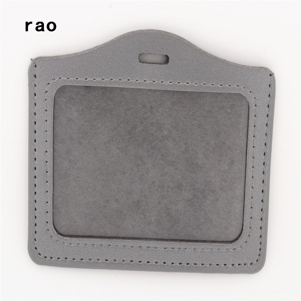 Роскошное Качество, 617 из искусственной кожи, материал, рукава для карт, наборы, ID значок, чехол, прозрачный, банк, держатель для кредитных карт, для школы, студента, офиса - Цвет: A4
