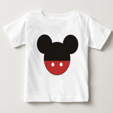 Mickey Minnie Summer 100% Cotton Baby Boy Clothing Toddler Children Kids Clothes Tees T-Shirt Short Sleeve t Shirt Blouse MJ new 2018 brand summer 100% cotton baby boys clothing toddler children kids clothes tees t shirt short sleeve t shirt boys blouse