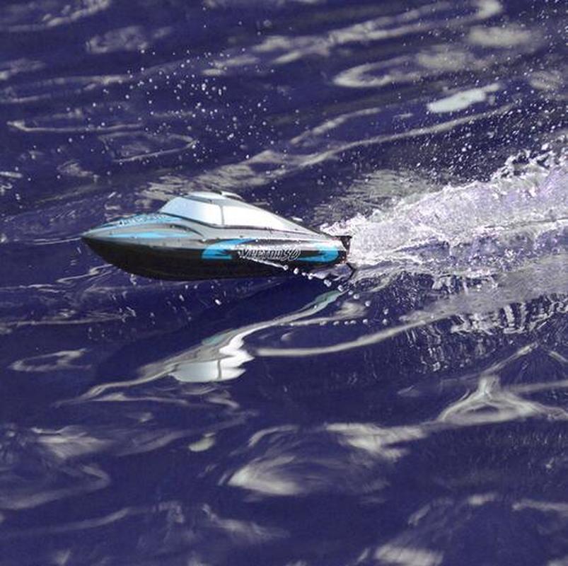1 pièces RC Speedboat 795-3 30 km/h 2.4G brossé haute vitesse bateau de course système de refroidissement par eau auto-redressement télécommande garçon cadeaux
