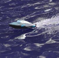 1pcs RC Speedboat 795 3 30km/h 2.4G Brushed High Speed Racing Boat Water Cooling System Self righting Remote Control Boy Gifts