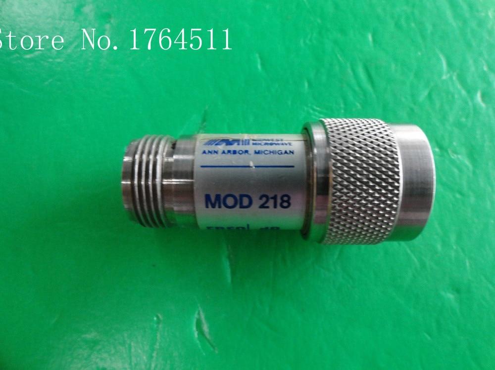 [BELLA] MIDWEST MOD 218 DC-12.4 0-3dB 2W N Coaxial Fixed Attenuator