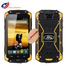 "D'origine Guophone V9 IP68 4.5 ""robuste Étanche 4000 mAH MTK6572 Android 4.4 IPS 8 GB ROM 1 GB RAM 3G mobile Téléphone Avec Cadeau"