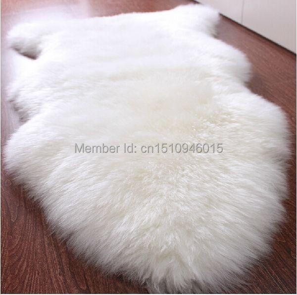 Real Sheepskin Rug Sheep Skin Home Decor Ikea Fur Rugs And Carpets For Living Room