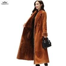 2019 Winter Jacket Coat Women Casual Warm Jackets Outerwear Fashion Suede Lamb Wool Cotton Coat Plus Velvet Thick Woolen Coats