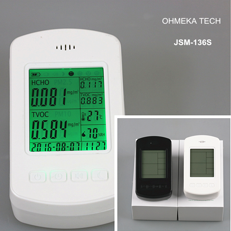 Factory directly sale Home use formaldehyde detector with Digital Display for Gas Alarm uyigao ua506 for ppm htv digital formaldehyde test methanol concentration monitor detector withlcd display sound and light alarm