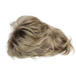 Image 5 - StrongBeauty נשים סינטטי פאה קצר שיער ערמוני/בלונד טבעי פאות בלי כומתה שכבות תסרוקות