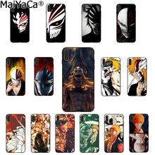 MaiYaCa bleach ichigo hollow Mask DIY Apple iPhone 8 7 6 6S Plus X XS MAX 5 5S SE XR 케이스 용 고급 하이 엔드 프로텍터 케이스(China)