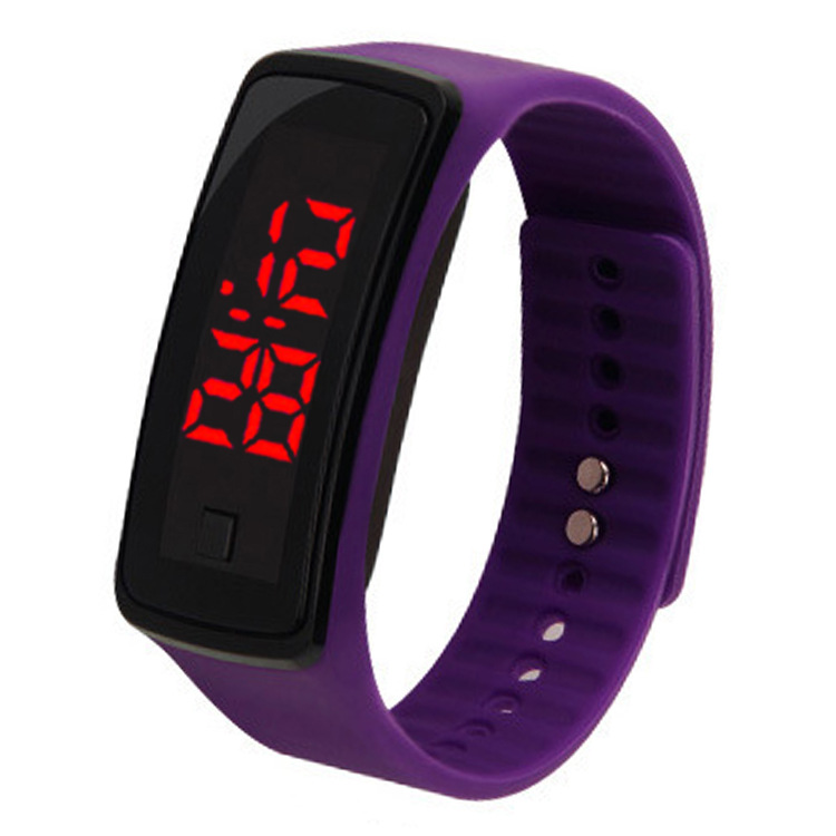 2019 Explosions Hot Led Children Watch Students Outdoor Sports Electronic Bracelet Silicone Watch Led Watch Montre Femme Zegarek