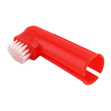 1Pcs Soft Pet Finger Toothbrush Dog Dental Care Massage Brus Cleaning Teeth Puppy Cat