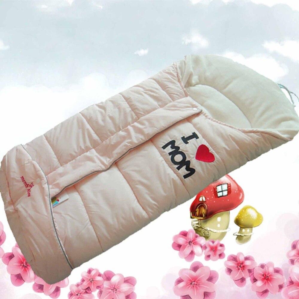 Envelope For Newborns Swaddling Clothes Baby Sleeping Bag Winter Baby Sleep  Sack For Stroller Blanket Swaddle Infant Fleabagin Three Wheels Stroller  From