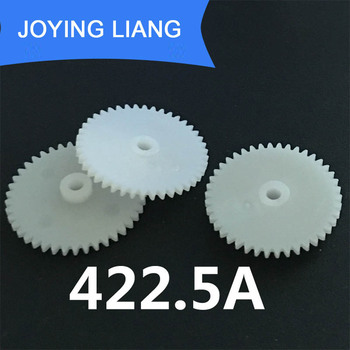 422.5A 0.5M 42 Teeth 2.5mm Shaft Tight Pom Plastic Gear Toy Model Gear (2000pcs/lot)