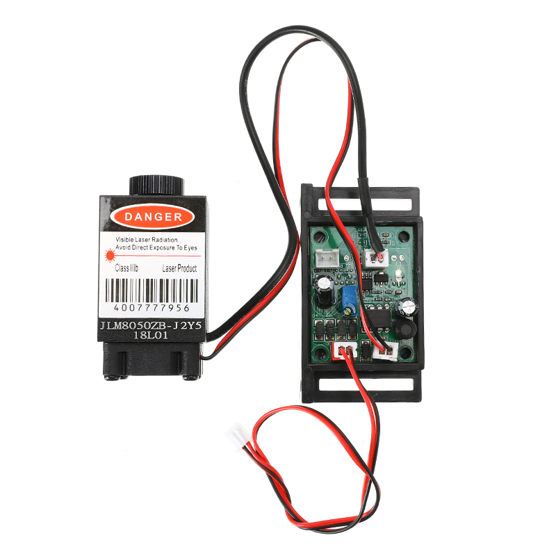 Focusable 500mw 808nm Infrared IR Laser Diode Dot Module 12V+ TTL+ Fan Cooling Laser Module For Security/Thermal Image