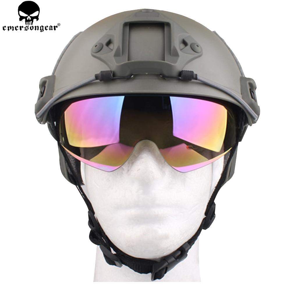 EMERSONGEAR Snelle helmen Beschermende bril Helm Accessoires Vervanging Goggle Hiking Eyewear Bril EM8817