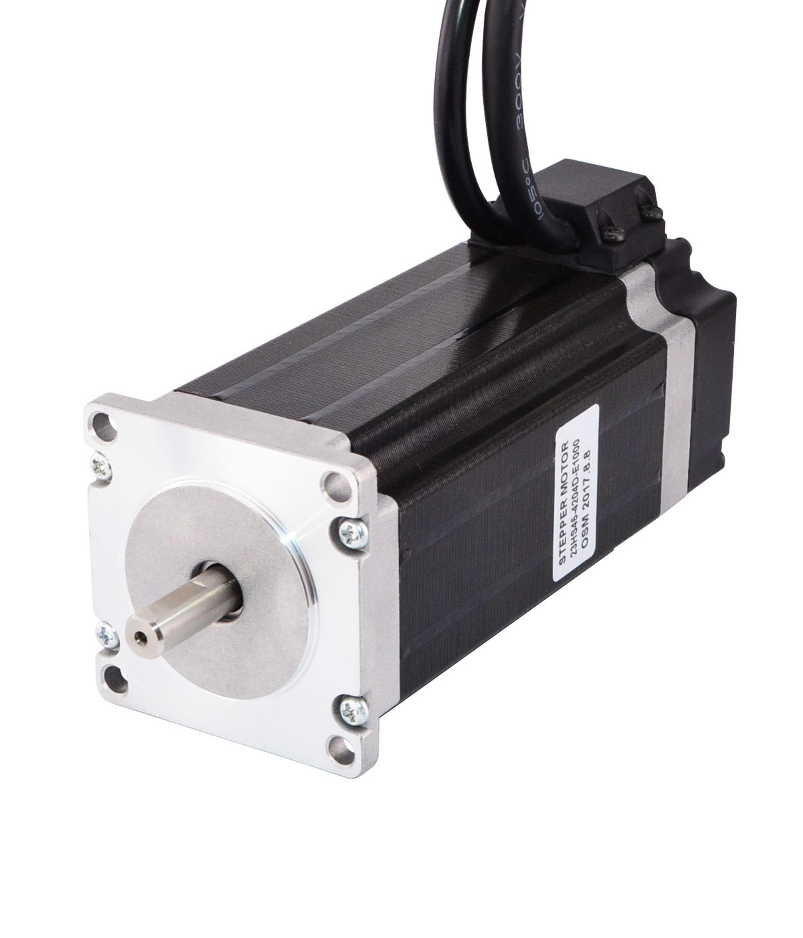 Nema 23 Closed Loop Stepper Motor 3.0Nm/425oz.in Encoder 1000CPR top sale act motor closed loop stepper motor driver hbs57 24 50vdc for nema23 stepper motor with encoder top quality