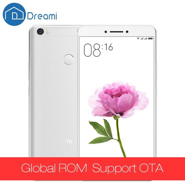 """Xiaomi Оригинальный Ун Макс 6.44 """"Mimax 3 ГБ RAM 64 ГБ ROM Snapdragon 652 Окта основные 1920x1080 P 4850 мАч Мобильный 16MP PDAF отпечатков пальцев"""