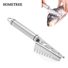 HOMETREE Stainless Steel Fish Scale Knife Scales Scraping Scales Kitchen Fish Cleaning Planing Scales Kitchen Accessories H690