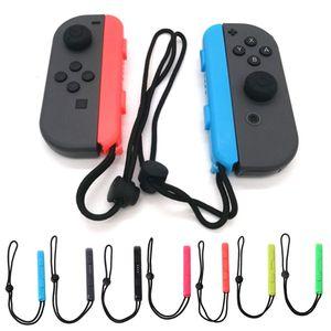 Image 1 - Correa de muñeca Con cuerda de mano para mando de Joy Con, accesorios para videojuegos de ordenador portátil, para Nintendo Switch