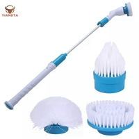 Multifunctional Long Handle Electric Cleaning Brush Home kitchen Supplies
