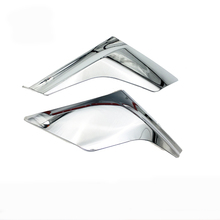 цена на ABS Chrome Front Head Light Lamp Eyebrow Trim Cover For Toyota Roomy 170 217 2018 Accessories