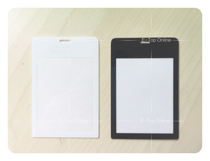 For Nokia 515 N515 Glass Screen Lens Black/White Front Lens Panel With Sticker +tracking
