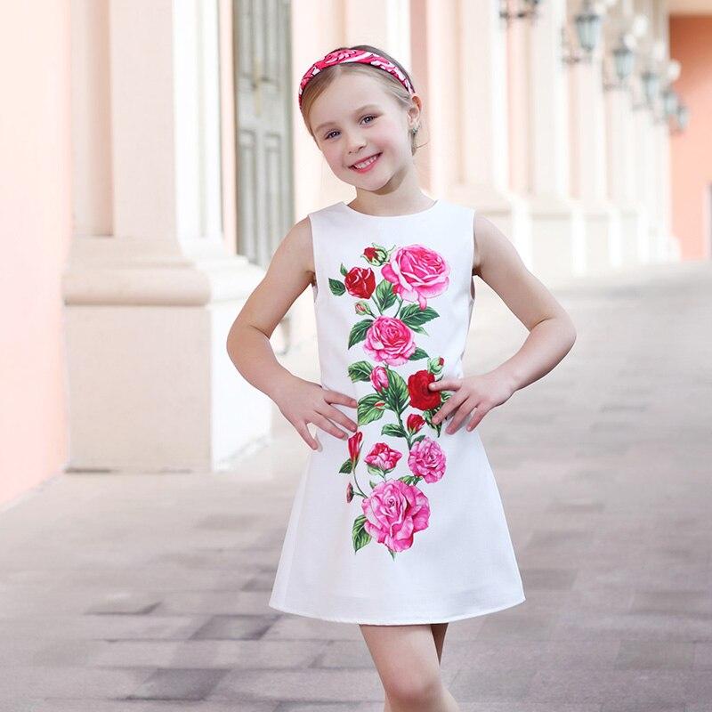 Κορίτσια Καλοκαιρινά Φορέματα Ρούχα - Παιδικά ενδύματα - Φωτογραφία 3