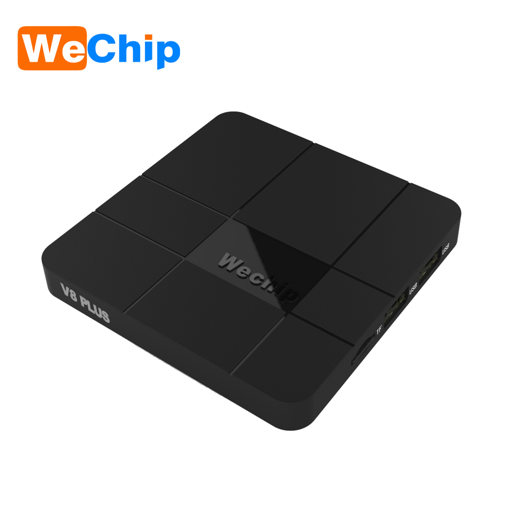 Wechip V8 plus with google voice control Smart Android 7.1 TV box Amlogic S905w quad-core set top box 4K Set top box PK m8s pro