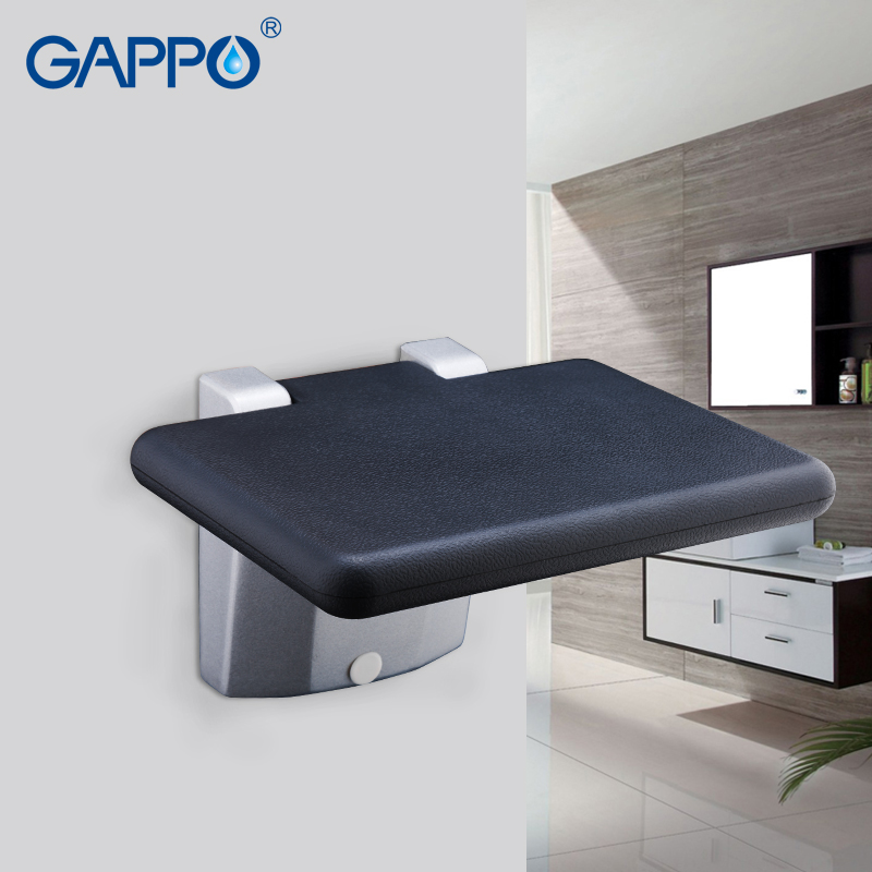Pleasant Gappo Wall Mounted Shower Seat Folding Bench For Child Andrewgaddart Wooden Chair Designs For Living Room Andrewgaddartcom