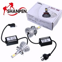 Car LED Headlights H7 H8 H11 HB3 9005 HB4 9006 H1 H4 40W 4000lm Auto Headlamp