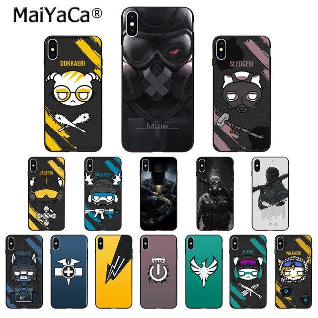 rainbow six siege iphone 8 case