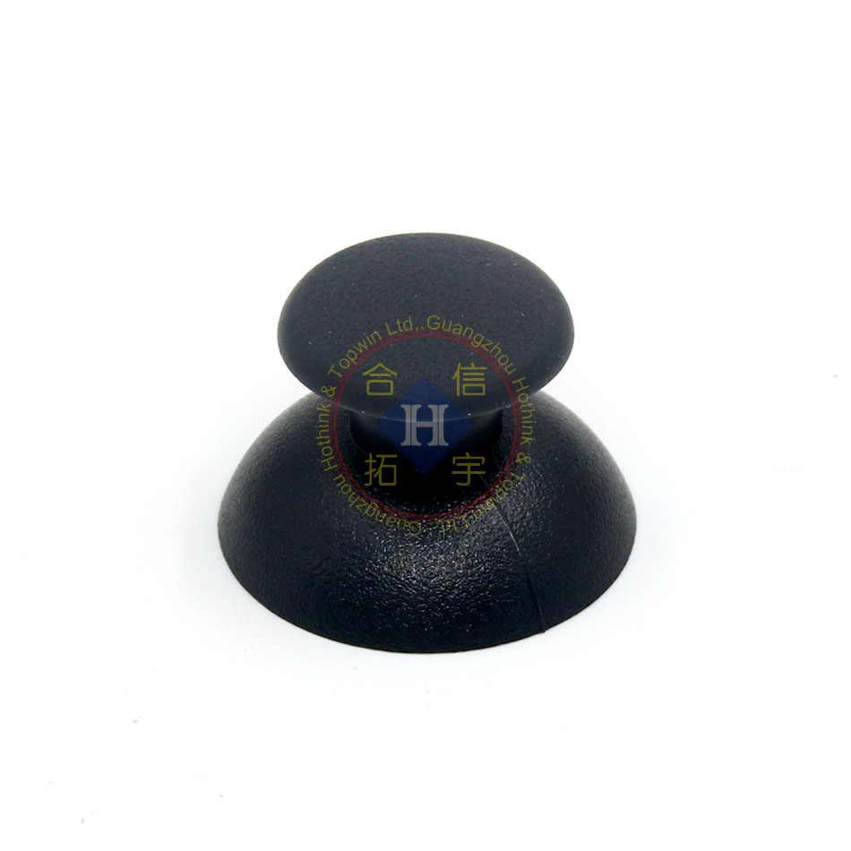 HOTHINKเปลี่ยนใหม่2ชิ้น/ล็อตสีดำ3Dจอยสติ๊กอนาล็อกT HumbติดหมวกสำหรับPS3ควบคุมD Ual S Hock 3